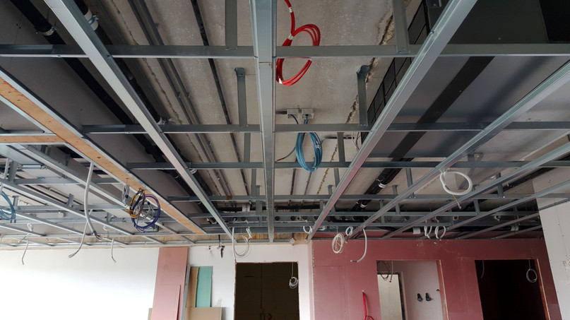 Electrical Services through soffit