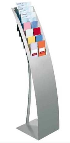 Curved Leaflet Stand