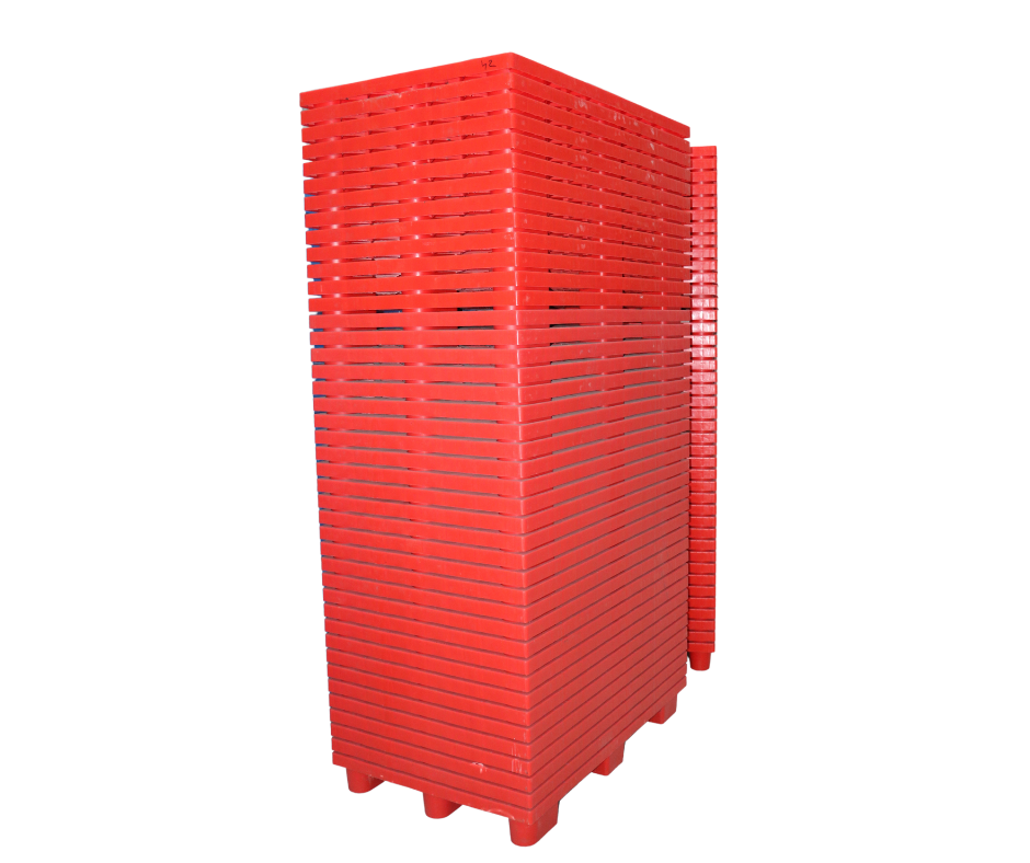 Red Plastic Pallets