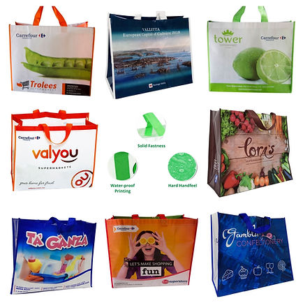 Canvas Branded Bags
