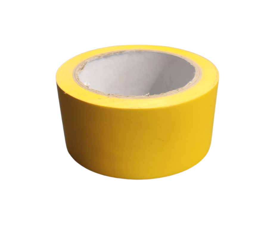 5cm wide Yellow Tape