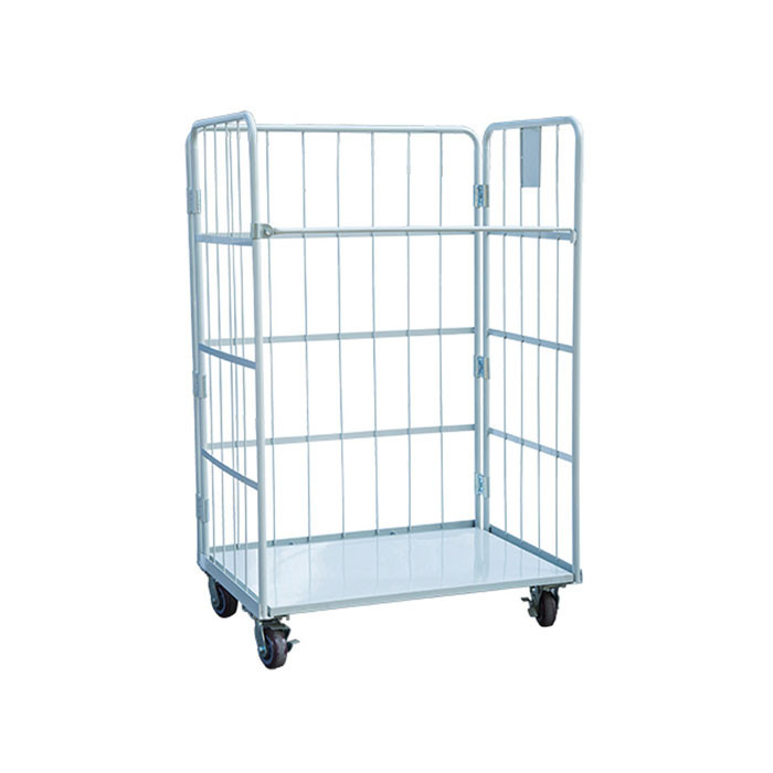 Foldabel Logistic Cage on Wheels