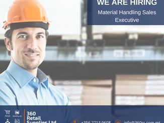 Vacancy - Material Handling Sales Executive