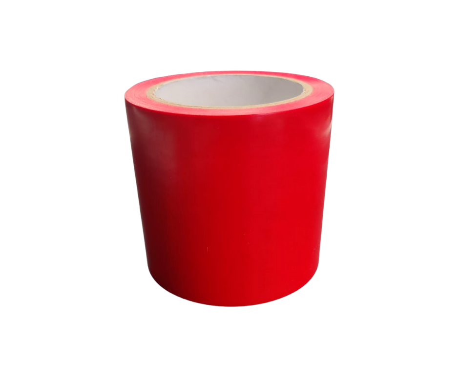 10cm wide Red Tape