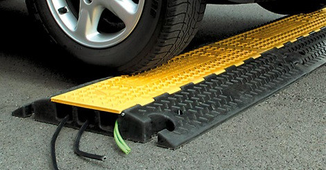 Cable protector with Car Demo