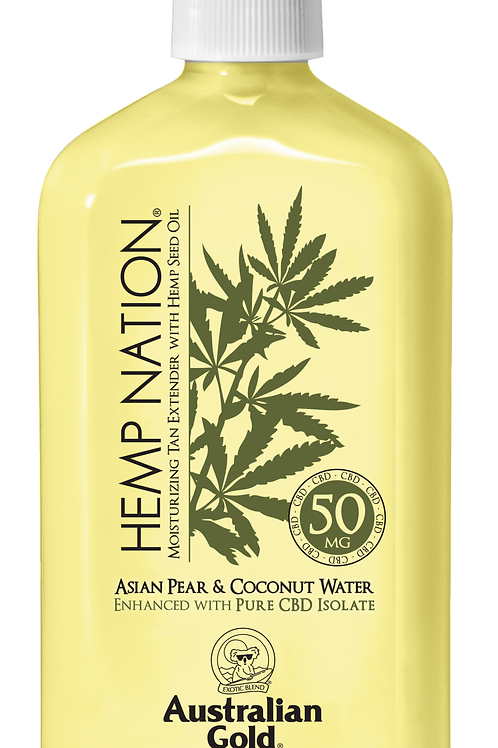 HEMP NATION® ASIAN PEAR & COCONUT WATER  -18 OZ.