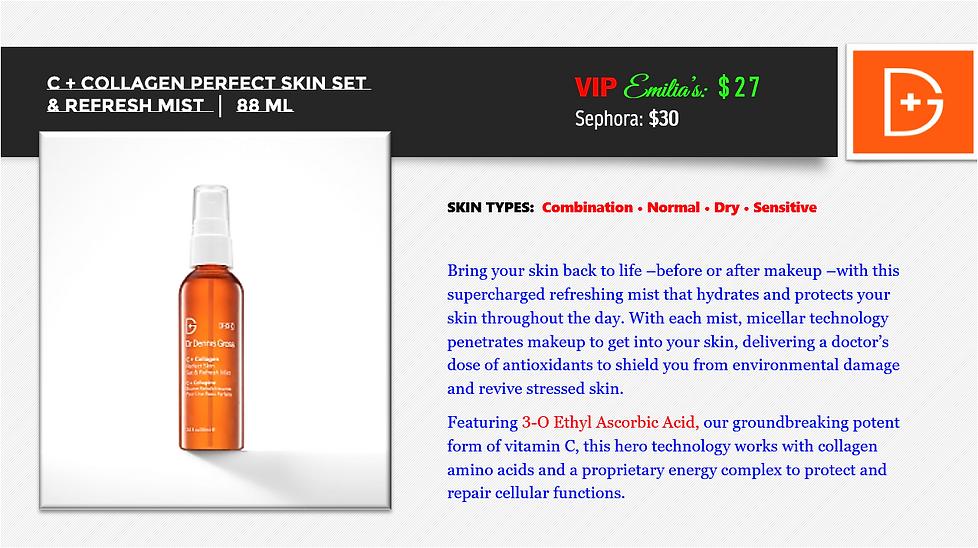 C + Collagen Perfect Skin Set & Refresh