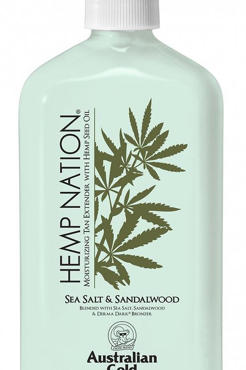 HEMP NATION® SEA SALT & SANDALWOOD  -18 oz