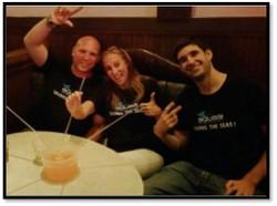Aquaai founders celebrate