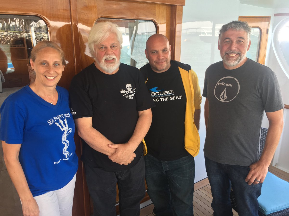 Sea Shepherd Captain Paul Watson