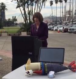 Rep. Susan Davis on Exports ini