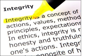 Integrity is the essence of everything successful!
