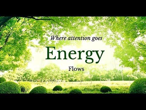 Where Focus Goes, Energy Flows