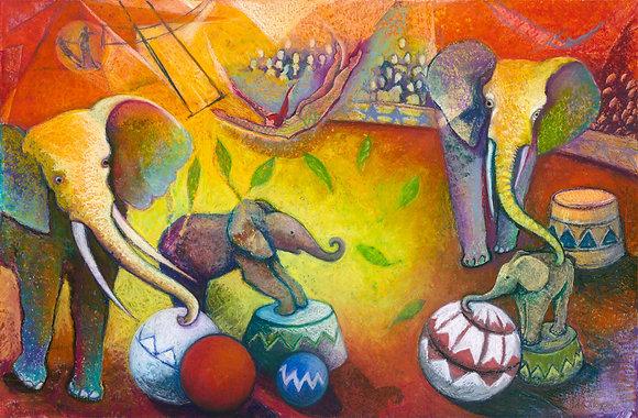Chagall's Elephants