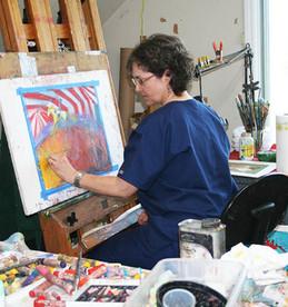 Jane in the Studio