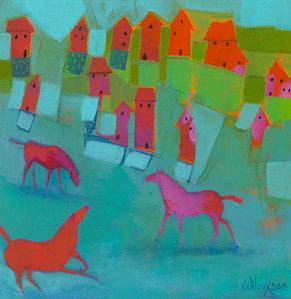 Beach Horses