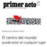Ana Vallés Teatro Contemporáneo