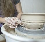 Potter Making Bowl
