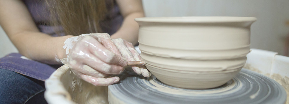 Potter Making Bowl