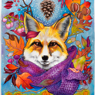 Autumn fox