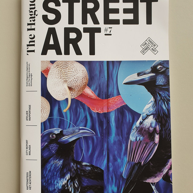 The Hague street art magazine #7 2021