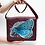 Thumbnail: Butterfly elephant vintage leather bag