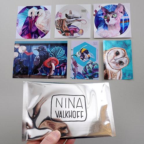 Epic sticker set - 1 of each!