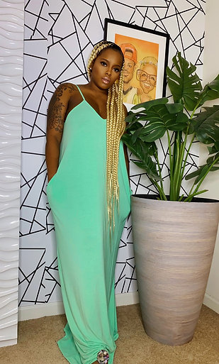 NEVER TO LATE MAXI DRESS