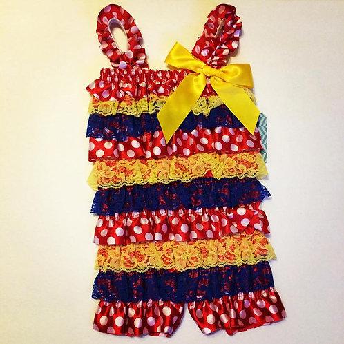 Snow White inspired Romper