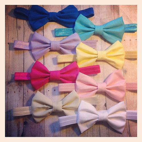 Cotton Bow headband