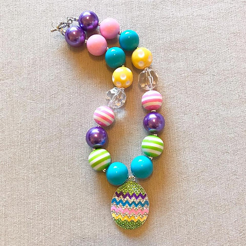 Egg Chunky Necklace