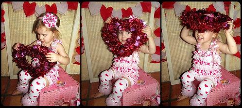 Valentine's day Romper