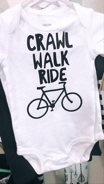 Crawl Walk Ride Bodysuit