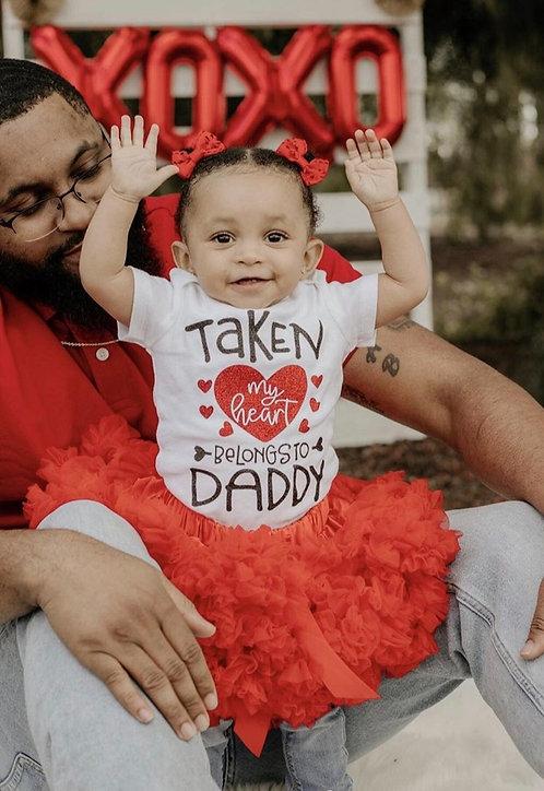 Taken My Heart Belongs To Daddy Bodysuit