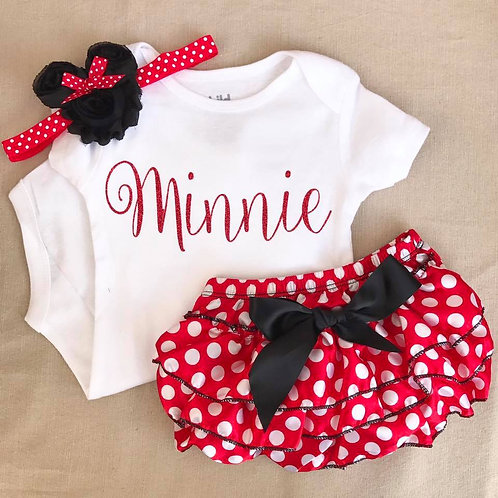 Onesie- Minnie