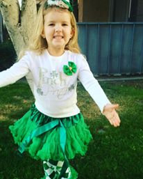 Green Petti Skirt