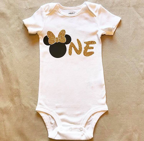 Onesie- Minnie Inspired