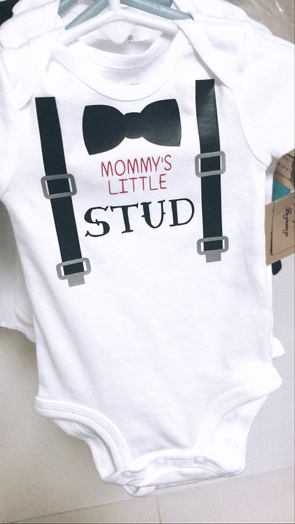 Mommy's Little Stud Bodysuit
