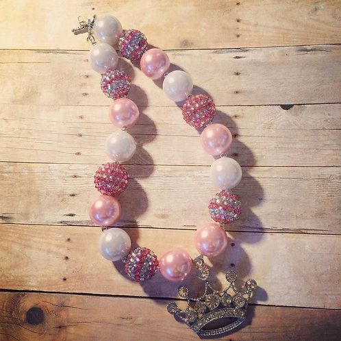 Crown Chunky Necklace