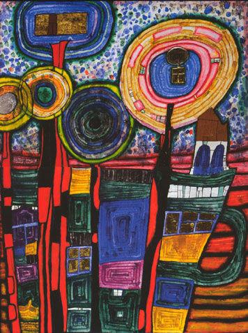 925, Fleurs tranquilles, techniques mixtes,1991