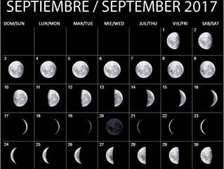 Como afecta la luna a nuestras decisiones en SEPTIEMBRE