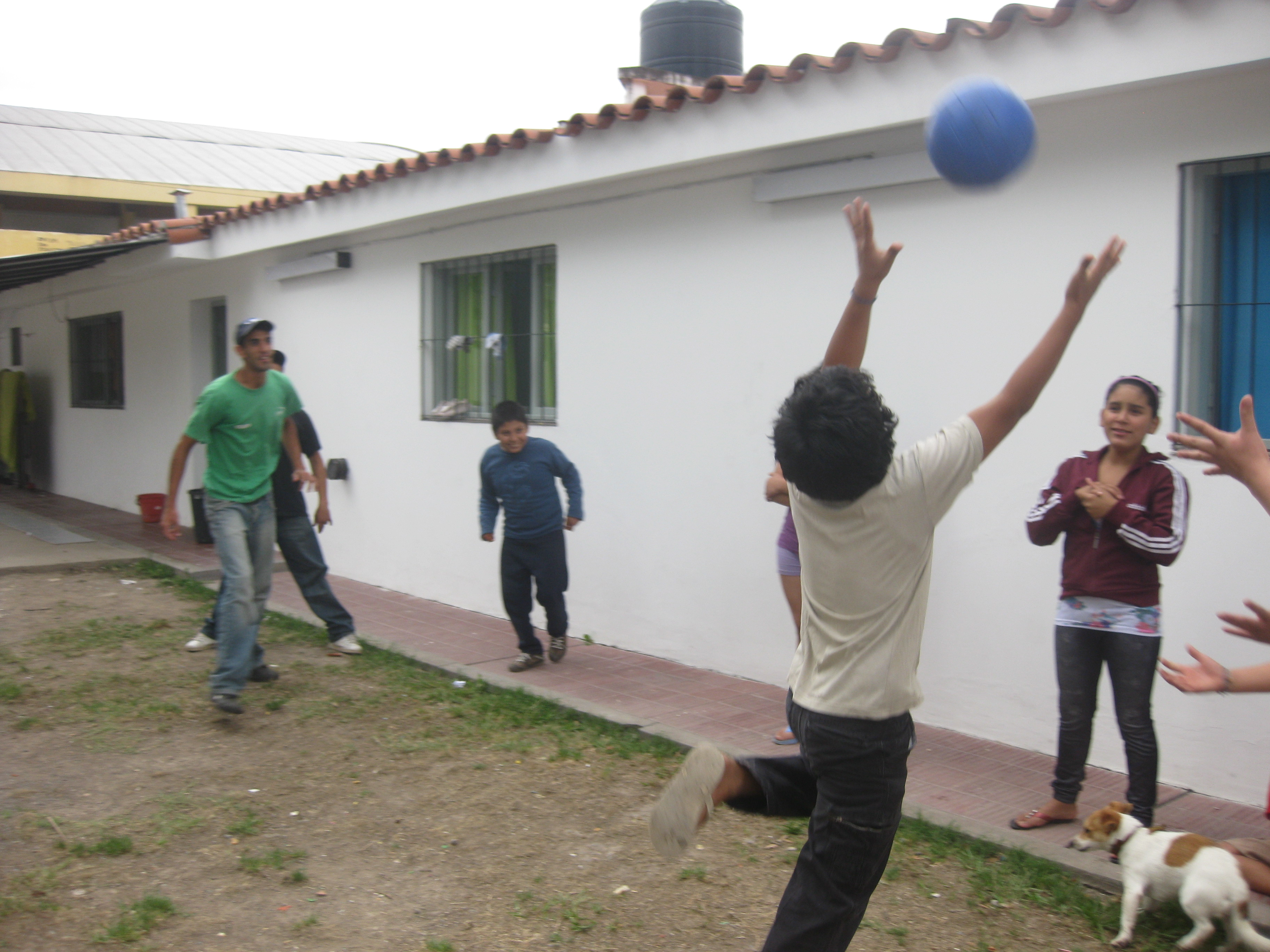 Actividades en Orfanato en Salta