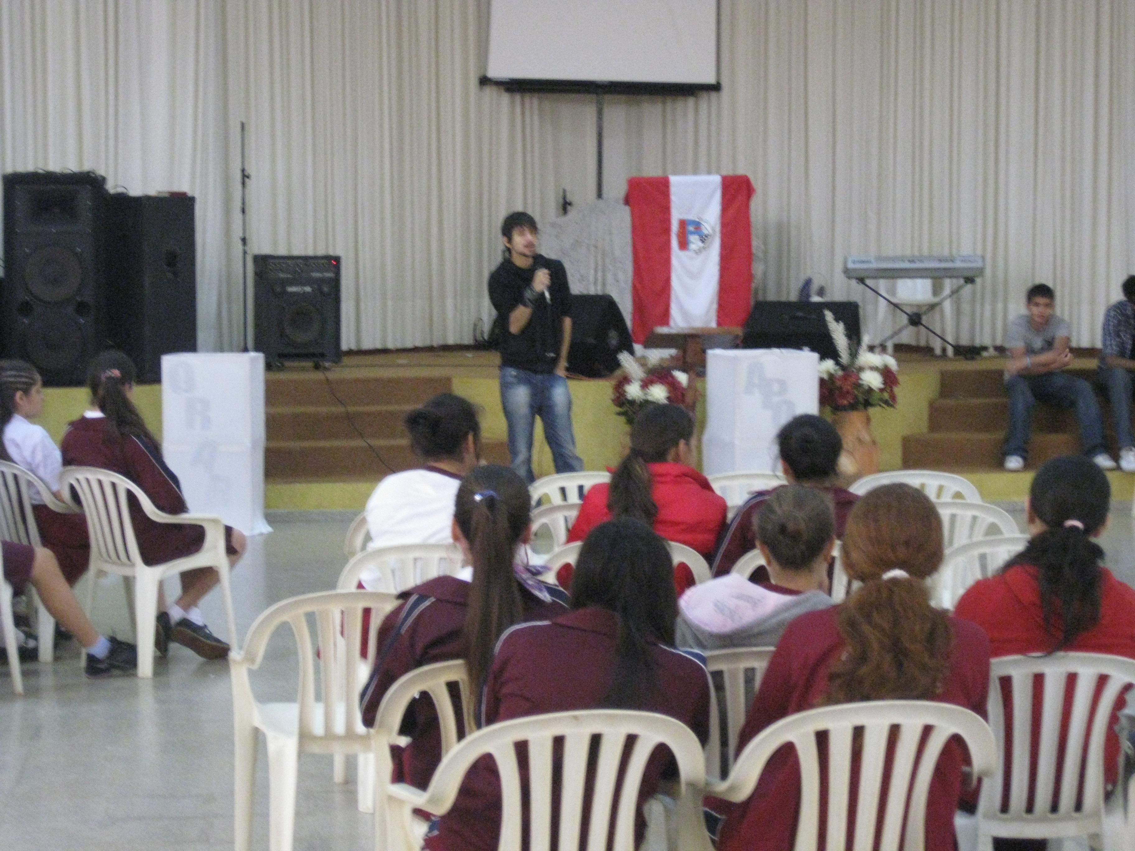 Iglesia en Coronel Oviedo