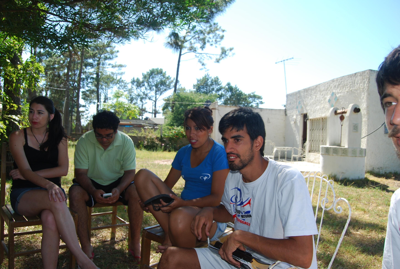 Campamento con niñas & jovenes