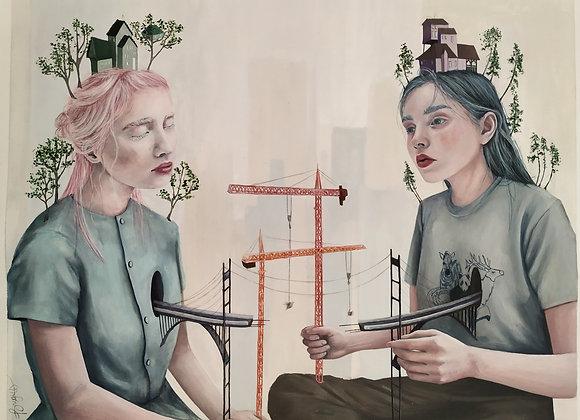 we won't be alone by Brigitte Bregagna