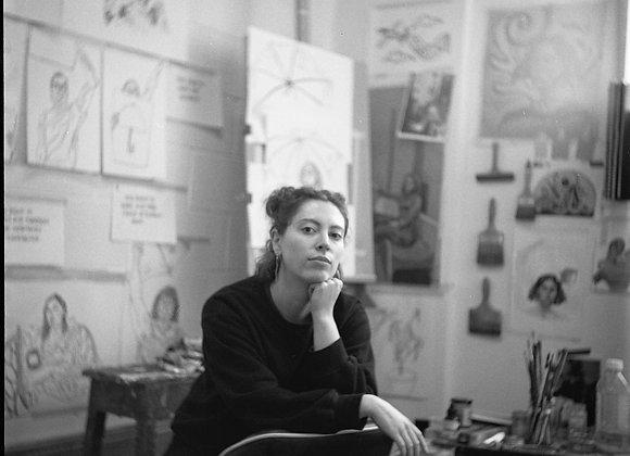 """""""Molly Hankinson"""" by Marilena  Vlachopoulou (Foamboard)"""