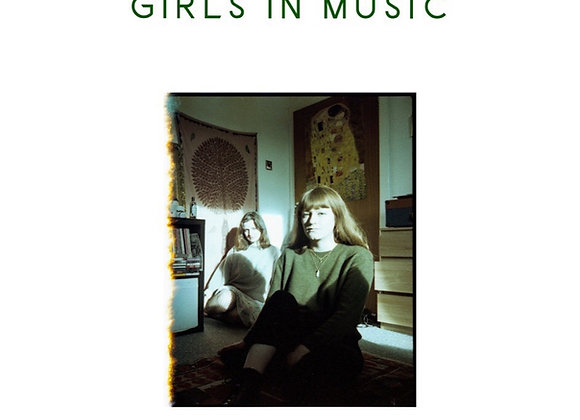 Girls in Music zine by Marilena Vlachopoulou