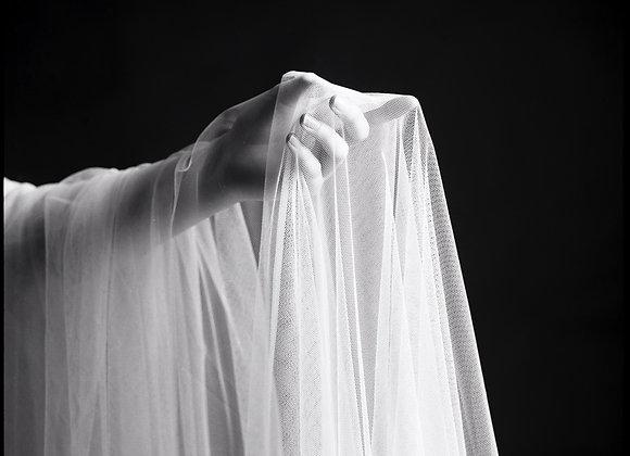 """Hand in Veil"" by Marilena Vlachopoulou (Framed)"