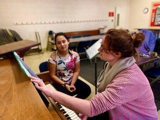 """Be as dramatic as you can"": Teacher-Student Pair Uses Singing as an Emotional Outlet"