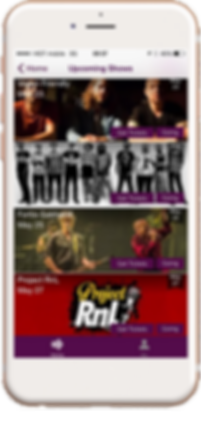 Live music App on iphone ClipAisle user generated concert recording